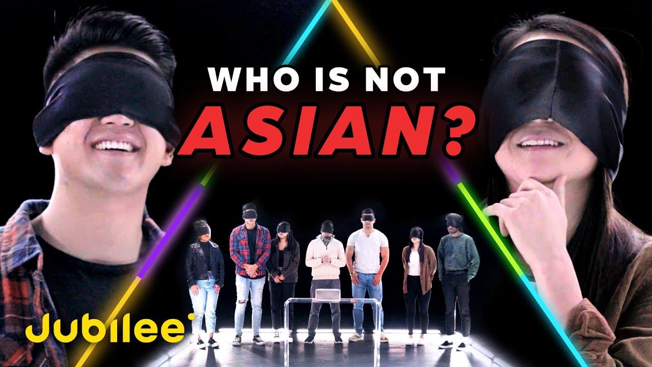 6 Asians vs 1 Secret Non-Asian