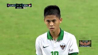 Highlight : Laos Vs indonesia (0-3) AFC U16 Qualifications
