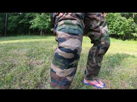 Оригинальные штаны тактические  армии Франции FELIN Combat CCE T4 S1
