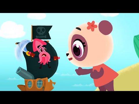 Дракоша Тоша  - Все серии про Пирата Грозу морей - сборник - мультфильм для самых маленьких