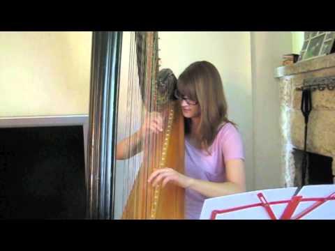 Gerudo Valley - Harp Cover - Legend of Zelda