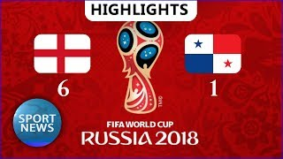 England vs Panama (6-1) • Highlights