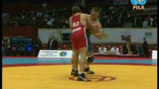 Gambar cover Jure Kuhar vs. Božo Starčević - 74kg - greco roman - European championship Baku 2010