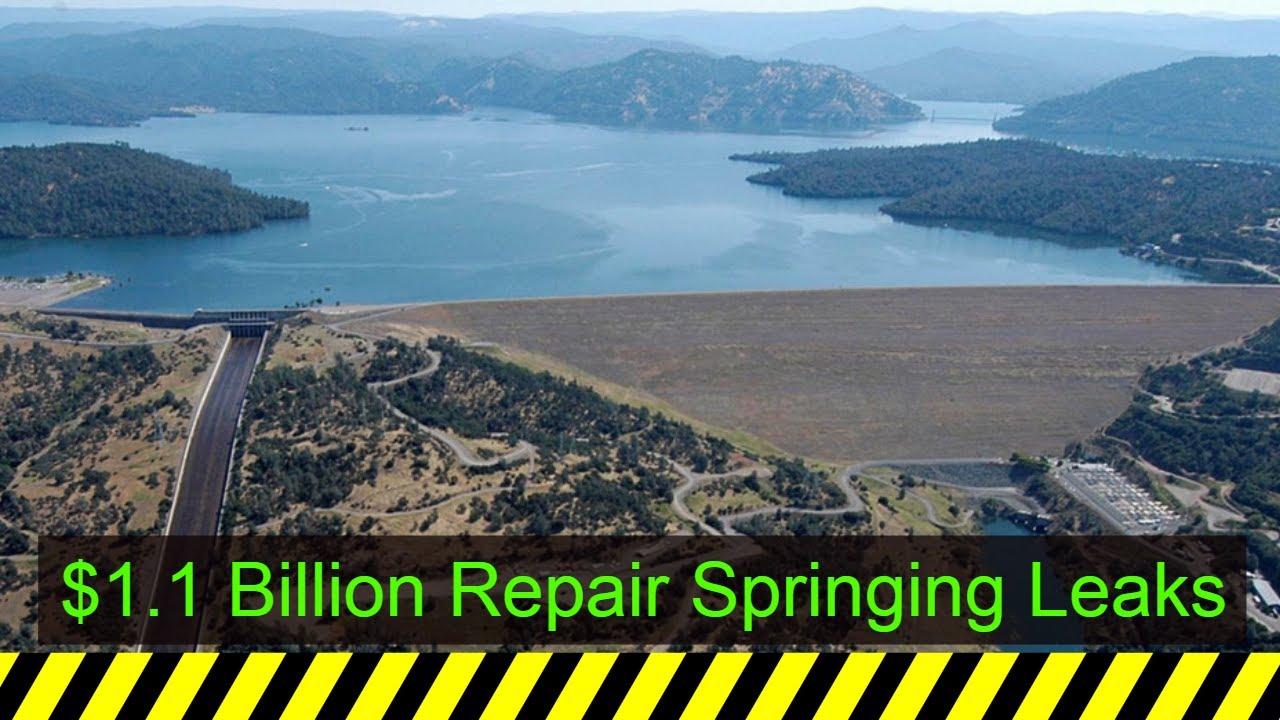 ENVR California's Lake Oroville Dam Spillway Suffers Major Damage