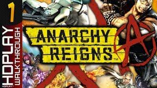 Anarchy Reigns - Walkthrough Black Side PART 1 | Killseekers (XBOX360/PS3)
