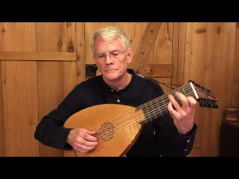 My Lord Willoby's Welcome Home (J.Dowland) and Alman (R. Johnson): Daniel Estrem, renaissance lute
