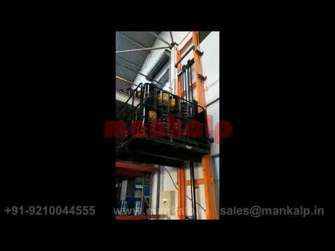 Mobile Goods Lift Mandeep Industries Ankleshwar Ahmedabad