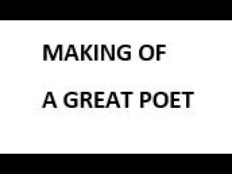 Making of a Great Poet per Astrology