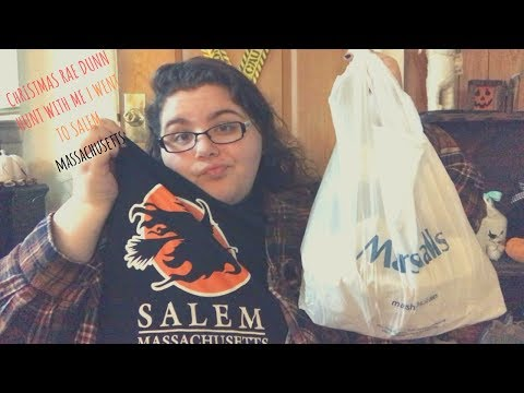RAE DUNN CHRISTMAS HUNT WITH ME & GOING TO SALEM MASSACHUSETTS