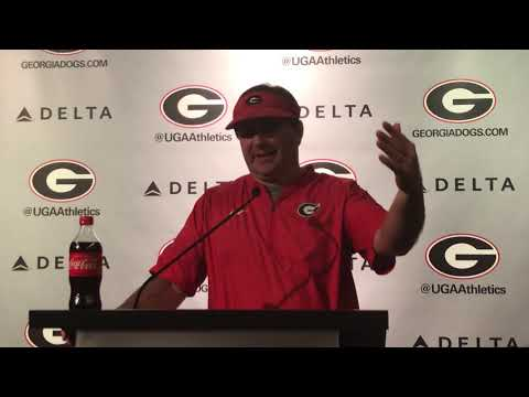 Kirby Smart, 10-16=18, @MikeGriffith32 video