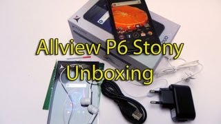 Allview P6 Stony Unboxing - GSMDome.com