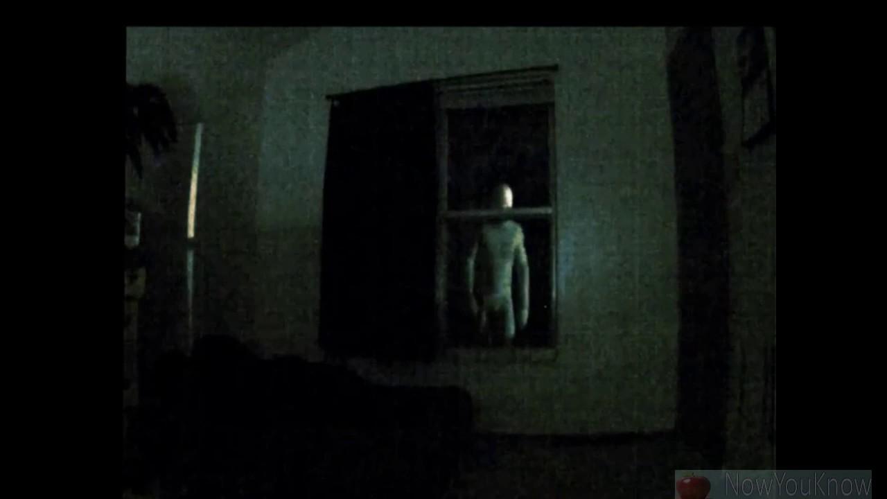 Man Captures Alien Peering Through His Living Room Window