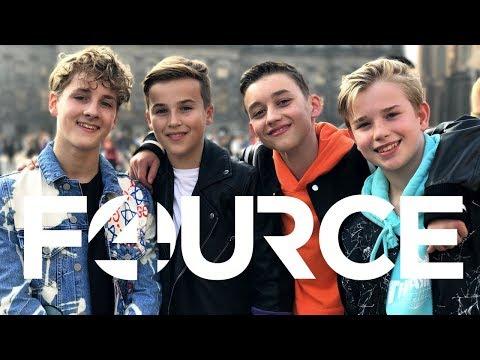 FOURCE - LOVE ME⚡️💙 | OFFICIËLE VIDEOCLIP | JUNIORSONGFESTIVAL.NL🇳🇱