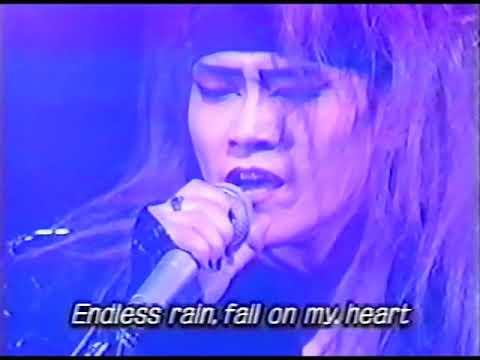 X japan kurenai/endless rain 역대급라이브 1993