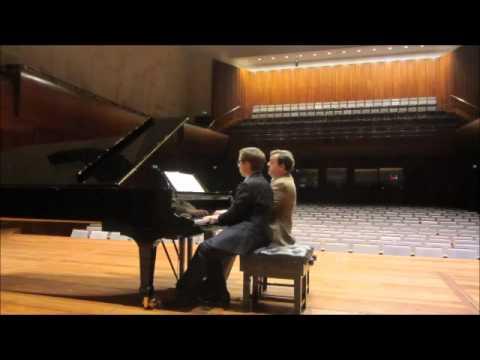 Schubert Fantasie in F minor by Ronan O'Hora & Ashley Fripp