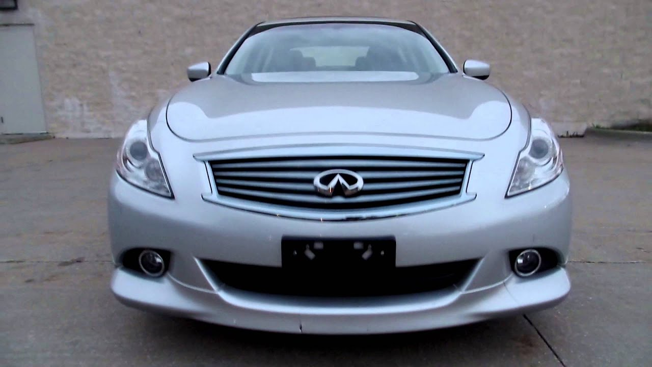 2011 infiniti g37 sedan x sport appearance edition youtube. Black Bedroom Furniture Sets. Home Design Ideas