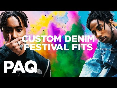 Customising Fire Festival Fits w/ Levi's | PAQ EP #41 | A Show About Streetwear and Fashion