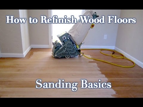 How to sand and refinish a wood floor diy step by step youtube how to sand and refinish a wood floor diy step by step solutioingenieria Choice Image