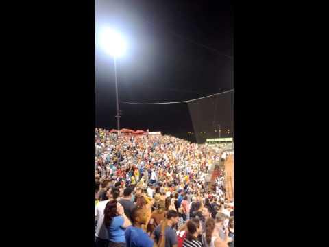 Last 7th inning stretch at Greer stadium.