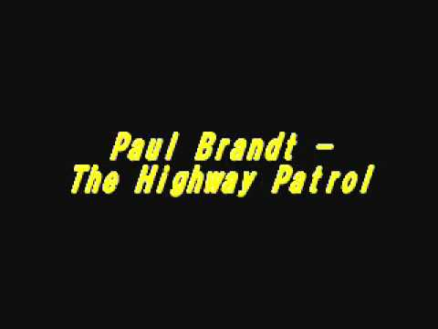Paul Brandt - The Highway Patrol (Karaoke)
