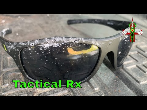 Tactical Rx Safety Glasses