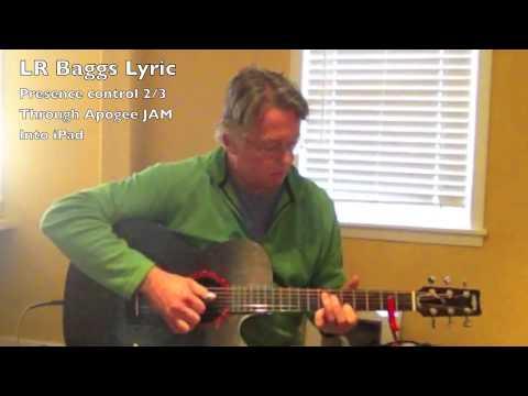K&K and LR Baggs Lyric PIckup Comparison
