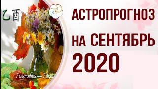 БАЦЗЫ 2020: АСТРОПРОГНОЗ на Сентябрь 2020 года. Месяц Деревянного Петуха  乙酉