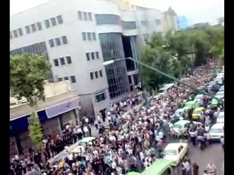 Demonstrations in Iran's Capital city Tehran