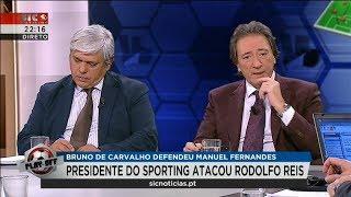 Rodolfo Reis Responde a Ataque de Bruno de Carvalho 21 Janeiro 2018