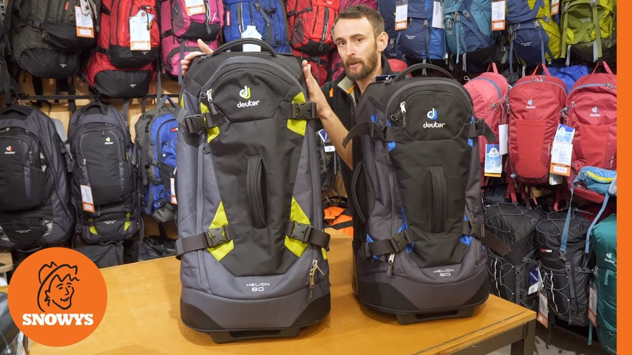 a22171efd81b Deuter Helion Wheeled Travel Pack - YouTube