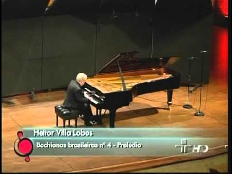 Nelson Freire plays Bachianas Brasileiras nº 4 Prelude (Villa-Lobos)