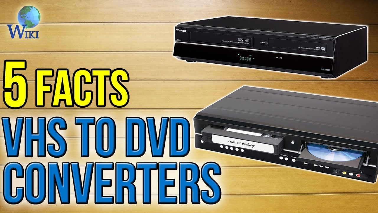 Top 9 VHS To DVD Converters of 2019 | Video Review