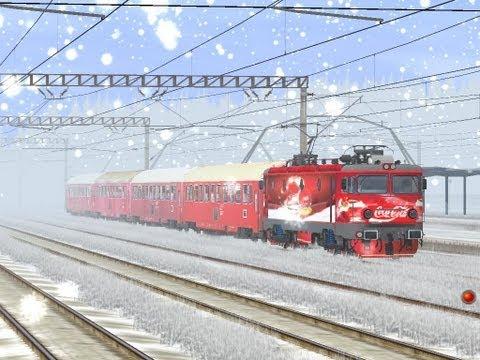 Locomotiva CocaCola In Trainz Simulator By AdySoft