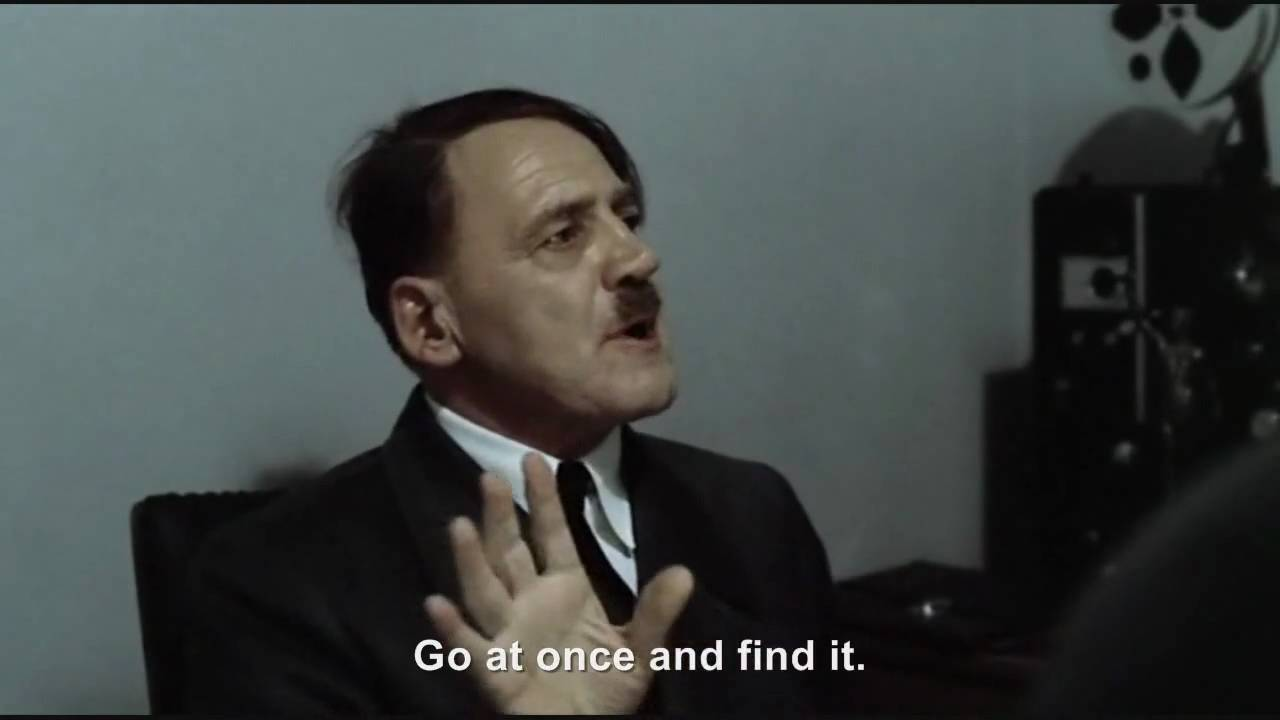 Hitler's pencil of doom and mass destruction goes missing and is broken