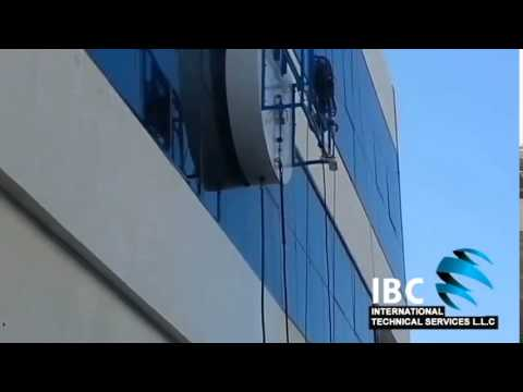 IBC International Technical Services Window Cleaning Machine