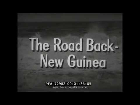 "CRUSADE IN THE PACIFIC TV SHOW EPISODE 9  ""THE ROAD BACK NEW GUINEA"" 72982"
