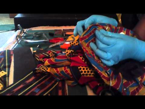 HANDMADE BAG USING ANKARA.A FREE PROJECT.(video 6)