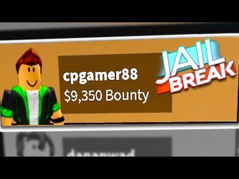 $10,000 Roblox Jailbreak Bounty