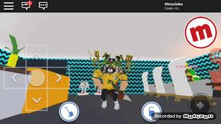 Dancing funk on Roblox with my friend