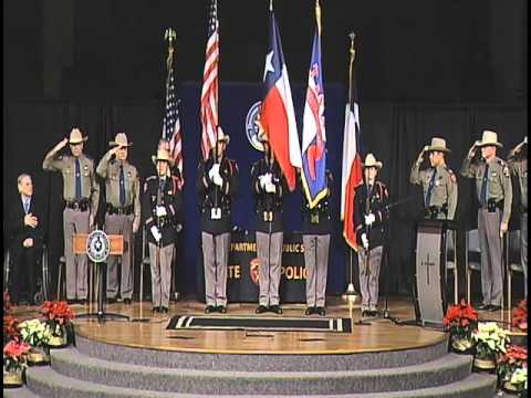 Texas Department of Public Safety 154th Trooper Training Class Graduation Ceremony (Dec. 18, 2015)