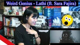 Weird Genius - Lathi (ft. Sara Fajira) REACTION