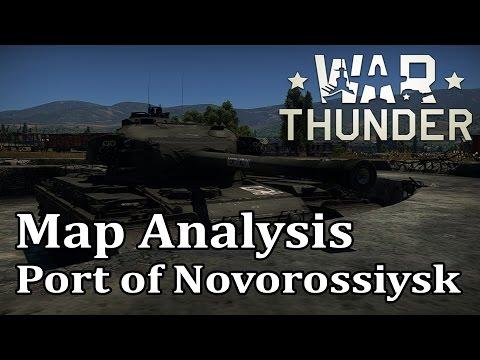 War Thunder - Map Analysis: Port of Novorossiysk