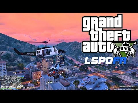 GTA 5 LSPDFR 0.3.1 - EPiSODE 162 - LET'S BE COPS - UNREALISTIC HELICOPTER PATROL (GTA 5 PC MODS)