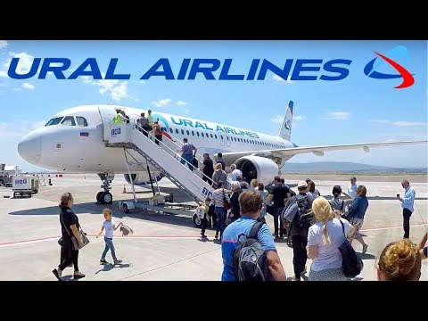 FLIGHT REPORT / URAL AIRLINES A320 / TBILISI - ST PETERSBURG
