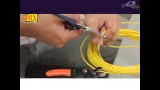 Splice Fiber Optic cable