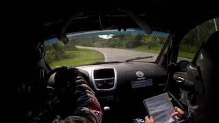 Onboard Felipe Marra/Thiago Osternack - SS4 - Rally de Morretes 2016