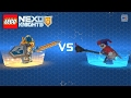 LEGO Nexo Knights | 1-Minute Quick Boss Battle Between Clay and Jestro