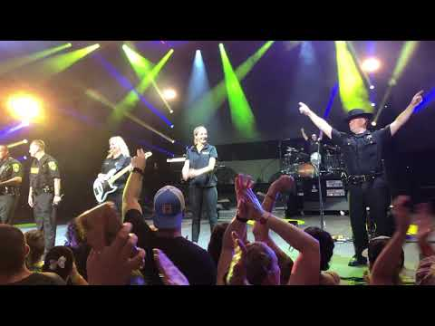 Luke Bryan Performs With Saratoga County Sheriff Department