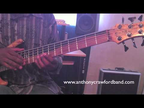 Anthony Crawford: Bass Tapping Instruction / Exercises / Technique PT1