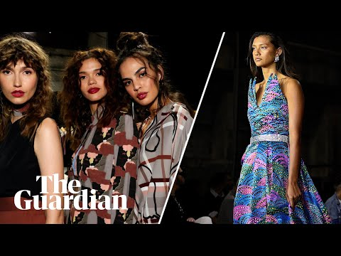 First ever all-black shows: Australian Fashion Week showcases Indigenous talent
